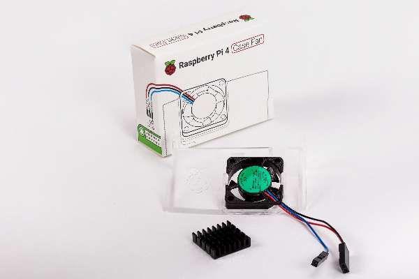 ohišja RASPBERRY PI Raspberry Pi 4 Case Fan, SC0448